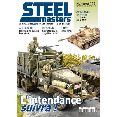 STEELMASTER N°172, oct/nov 2019, BTR-60 , T-54B, GMC352 & Jagdpanzer IV