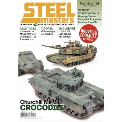 STEELMASTER N°169, avril/mai 2019, Achilles, VIII MAUS, Churchill, M1A2,