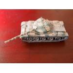 Char T62 syrien, tank monté et peint, 1/72, Trumpeter