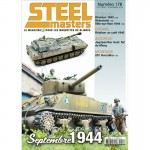 STEELMASTERS N°178 oct/nov 2020, Jagpanther,Kharkov 1943, Sharotank, 2S1 Gvozdik