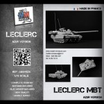 Leclerc AZUR (slat armor and reactive armor)