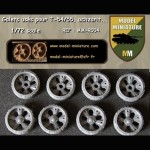 Wheels used for T-54/55, Tiran, Achzarit...