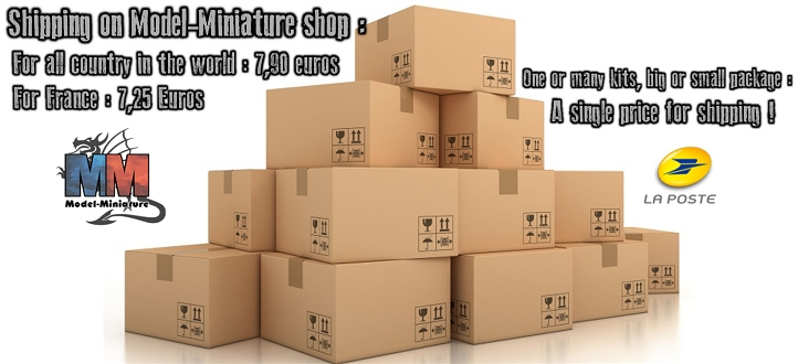 Shipping on Model-Miniature shop