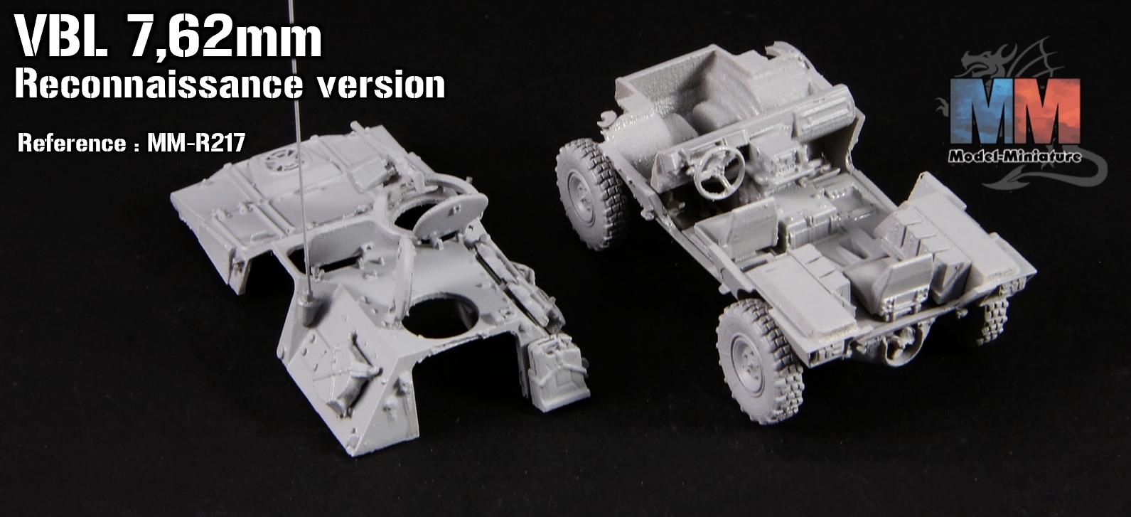 VBL 7.62mm (reconnaissance vehicule)
