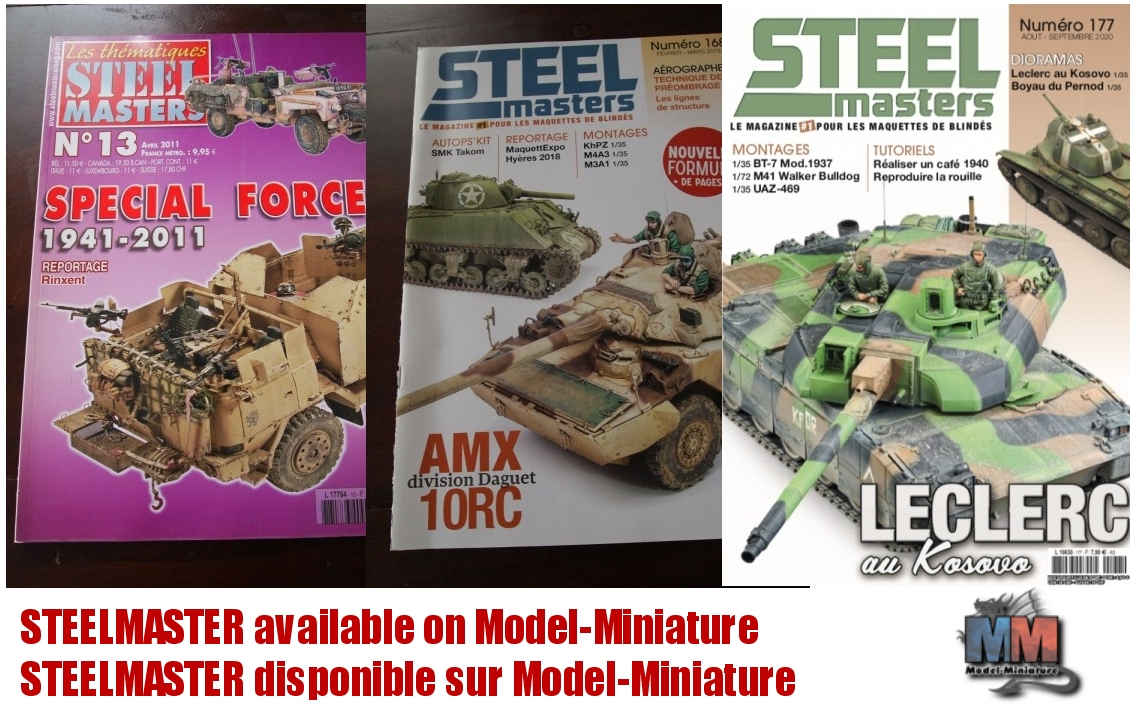 STEELMASTERS available on Model-Miniature