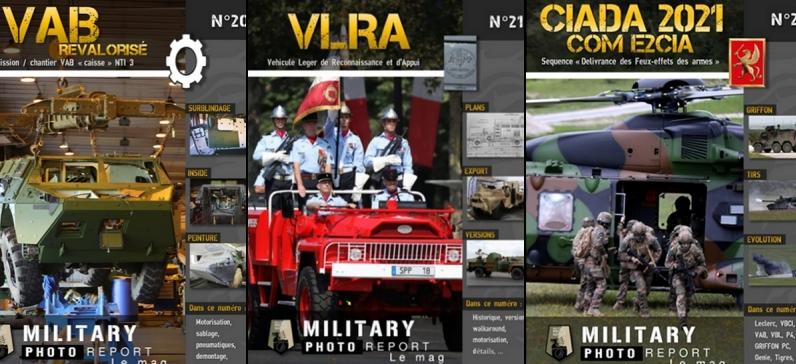 3 livrets : VAB / VLRA / CIADA 2021
