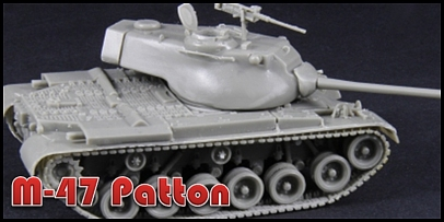 Medium tank in 1/72 scale / complet resin kit