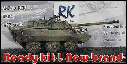 """Ready Kit"" is a brand of reduced model offering who vehicles built and painted"